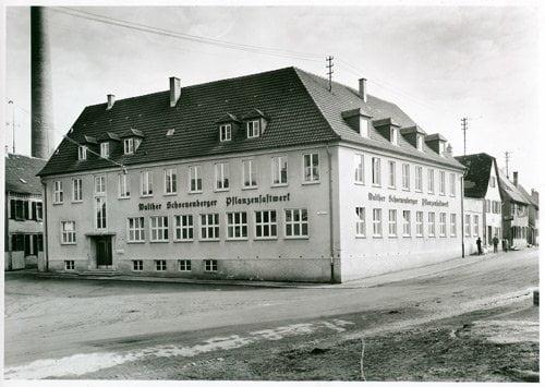 Pflanzensaftwerk in einer alten Brauerei in Magstadt